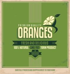 Fresh farm product poster design vector