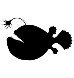 Deep-sea fish vector