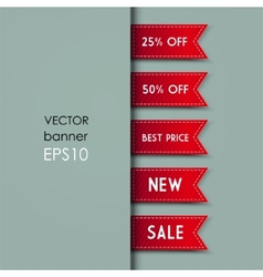 Web bookmarks vector