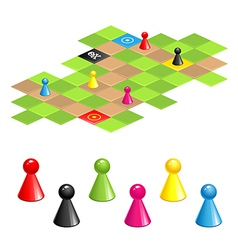 Game field vector