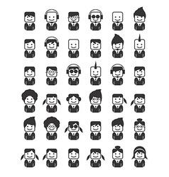 Avatar portrait picture icon vector