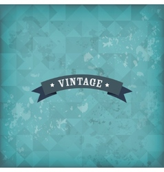 Vintage old retro background vector