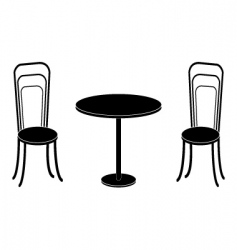 Chairs converted vector