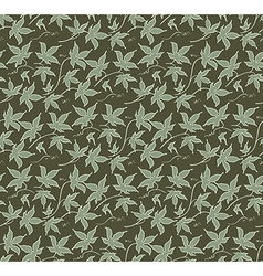 Vintage floral seamless pattern classic hand drawn vector