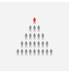 Large group group of people vector