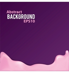 Abstract background with liquid frame vector