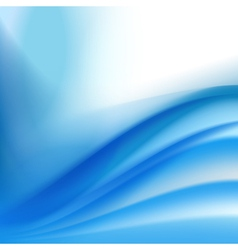 Abstract blue folding background vector