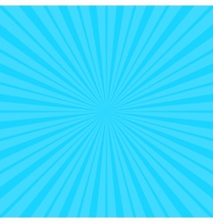 Calm blue fanning rays background vector