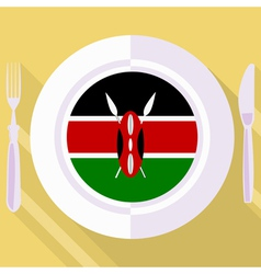 Kitchen of kenya vector