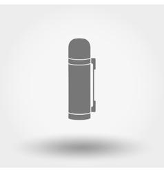 Thermos icon vector