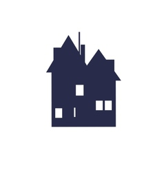 House symbol vector