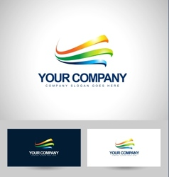 Business logo design vector