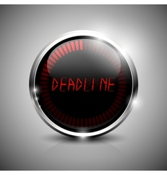 Deadline electronic symbol vector