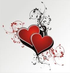 Love flora vector