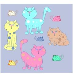 Kitty cat vector