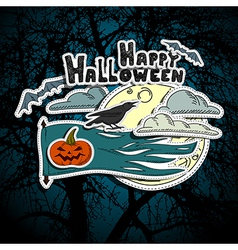 Halloween elements vector