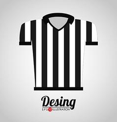 Referee shirt vector