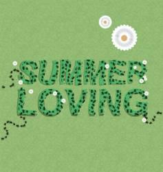 Summer loving vector