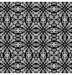 Geometric abstract seamless pattern with vector
