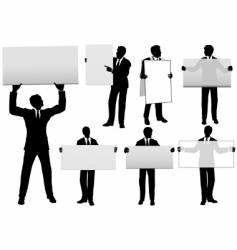 Businessmen  background vector