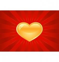 Artistic valentine's background vector