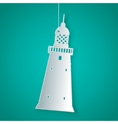 Lighthouse icon vector