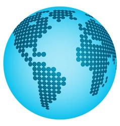 Abstract globe vector