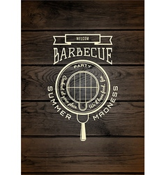 Bbq badges logos and labels for any use vector