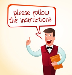 Give an instruction vector