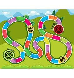 Maze game vector