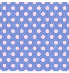 Seamless circle dots background vector