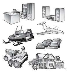 Misc objects vector