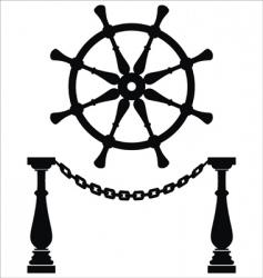 Anchor silhouette vector