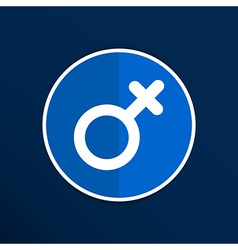 Female sign icon woman gender feminine vector