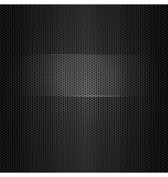 Seamless metal texture with highlighted frame for vector