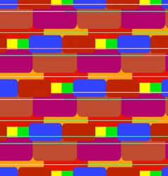 Colored bricks vector