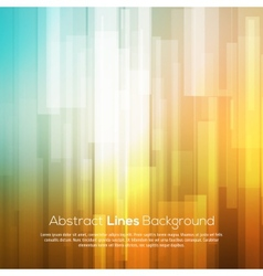 Colorful abstract lines business background vector