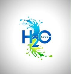 Water logo design vector