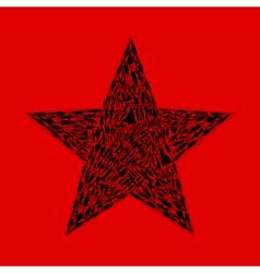Star of girls vector