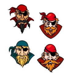Old danger pirates vector