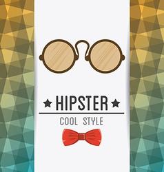 Hispter design vector
