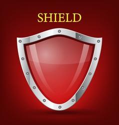Shield symbol icon vector