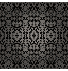 Damask baroque seamless pattern background vector