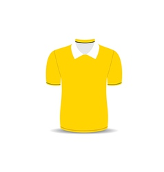 Polo shirt outline vector