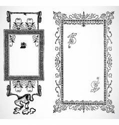 French frames vector