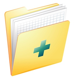 Medical records vector