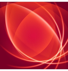 Abstract soft waves light lines background vector