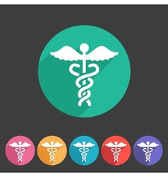 Health medicine pharmacy icon badge flat symbol vector