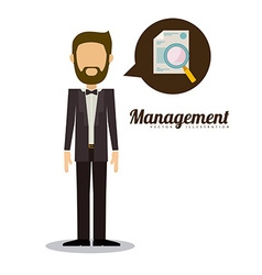 Management design vector