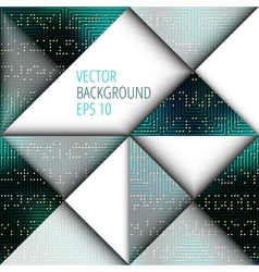 Background for design with blank place vector